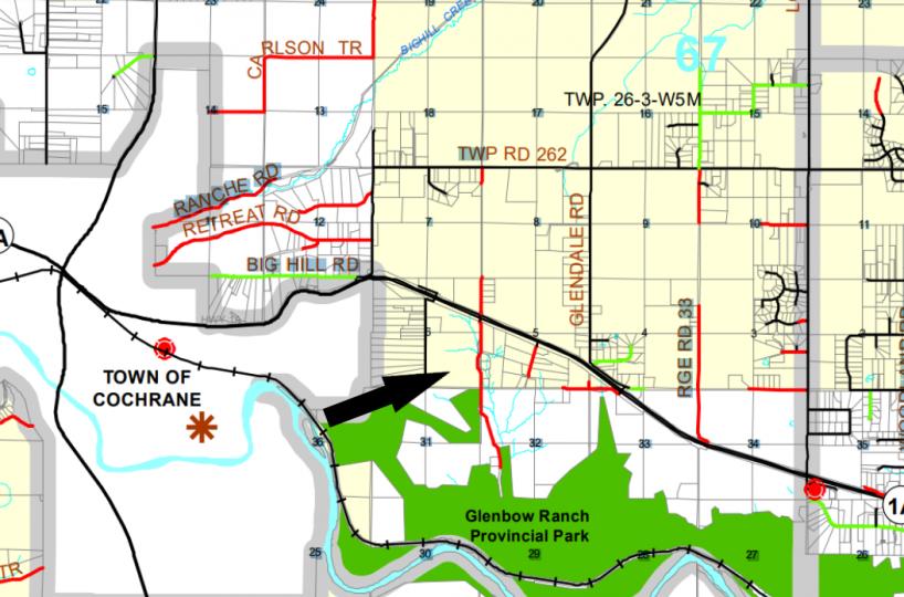 Hansen Land Brokers - Mackenzie county map