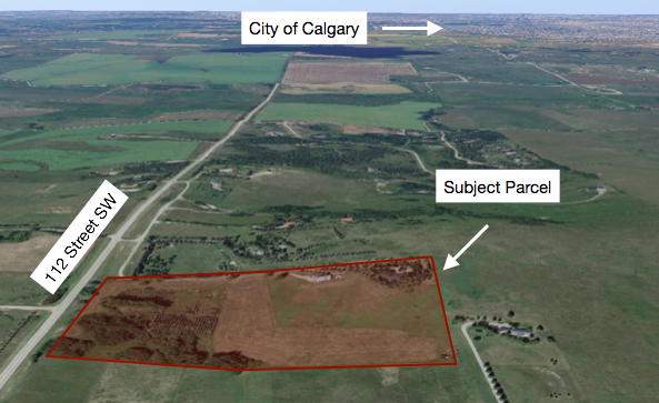 Hansen Land Brokers - 19.5 (+/-) Acres South-West of Calgary