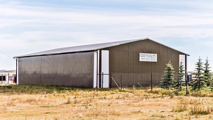 Hansen Land Brokers - 80 Acre RV Storage, Interior Storage