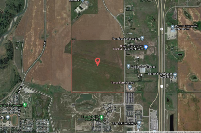 Hansen Land - 160-Acres of High & Dry Development Land in the Town of High River