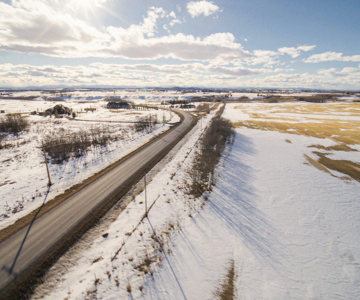 Hansen Land Brokers - 157 (+/-) Acres in DeWinton