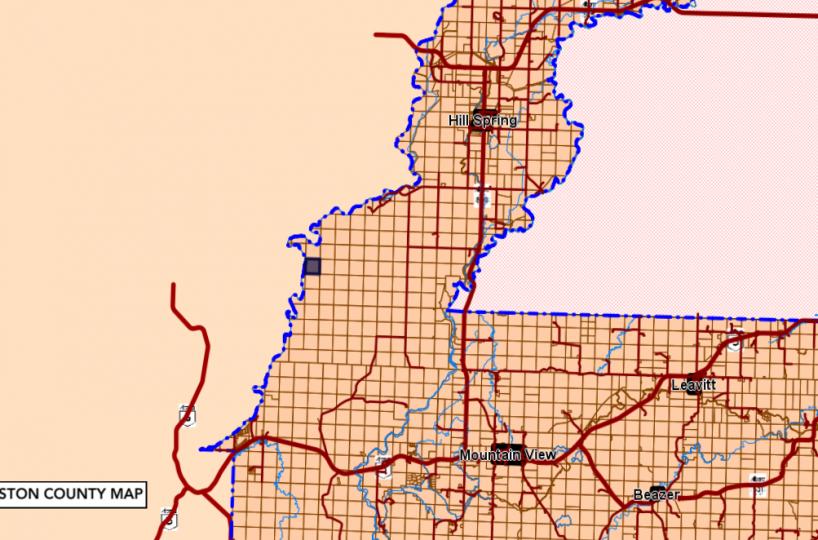 Hansen Land Brokers - Glaister County map Cardston