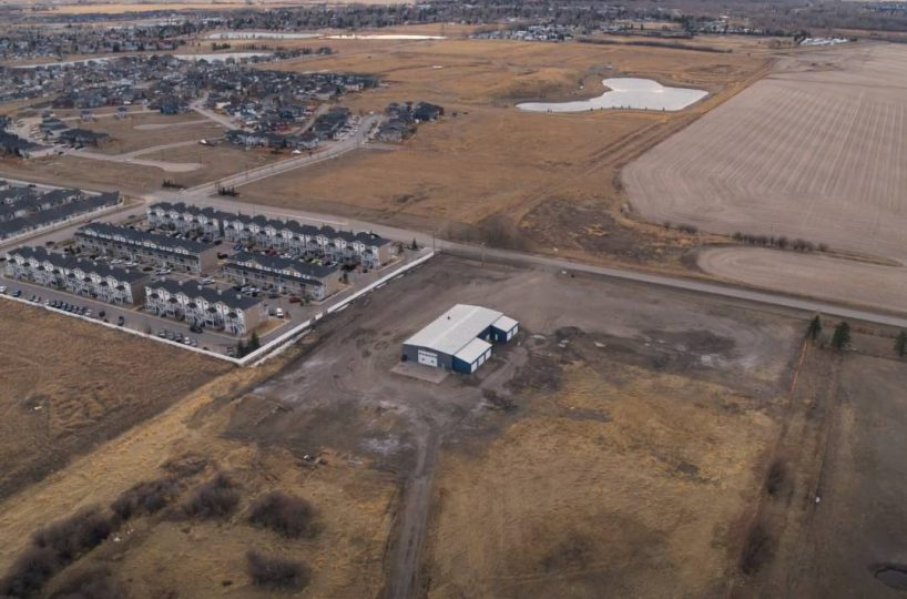 Hansen Land Brokers - Serviced Commercial Industrial Lot in High River