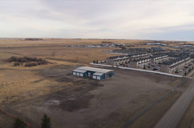 Hansen Land Brokers - Serviced Commercial / Industrial Lot in High River -25