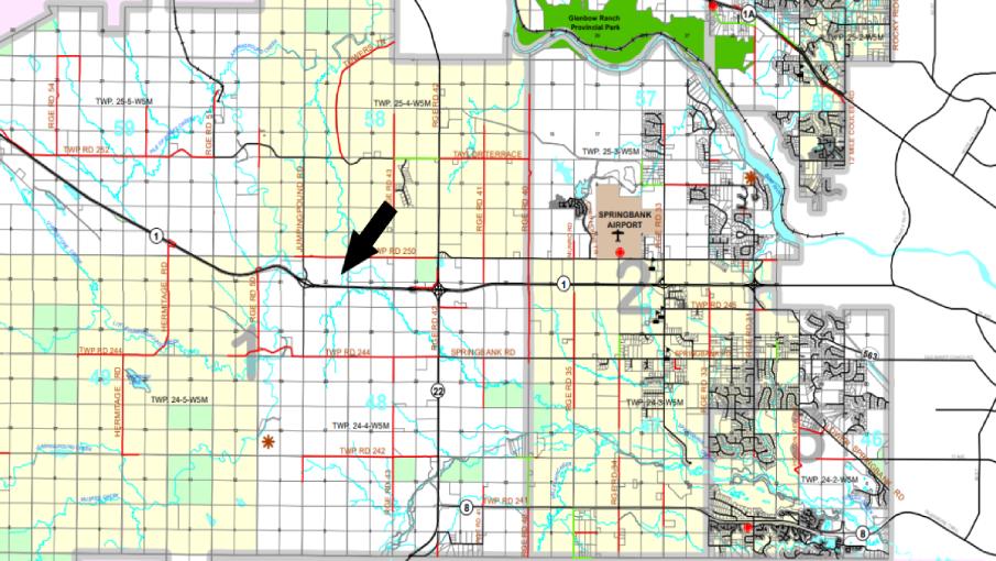 Hansen Land Brokers - CL County Map