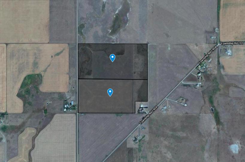 Hansen Land Brokers - Interesting Quarter Section West of High River 6
