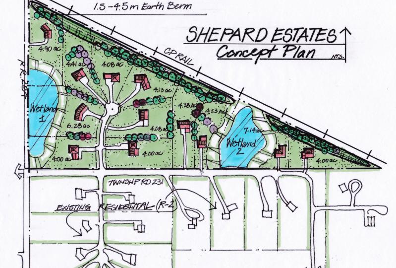 Hansen Land Broker - Development Land For Sale Near SE Calgary - 4