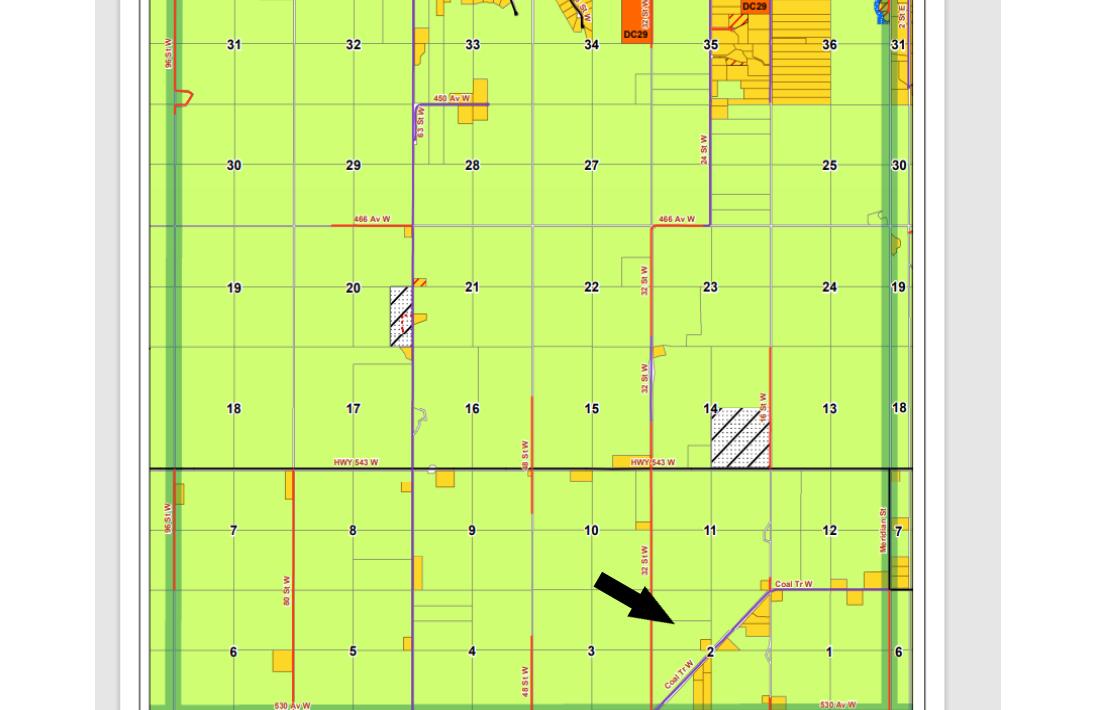 Hansen Land Brokers - Interesting Quarter Section West of High River 7