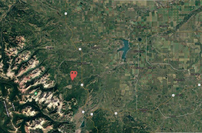 Hansen Land Brokers - Barager County Map